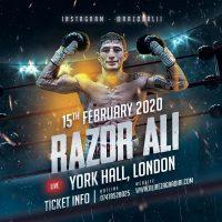 Razor Ali pro fight